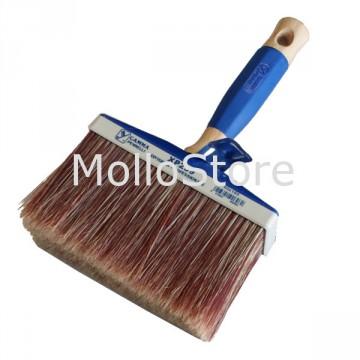 Pennello Plafone GAMMA XP259 extra professionale Setola rossa 65x160 mm Manico blu