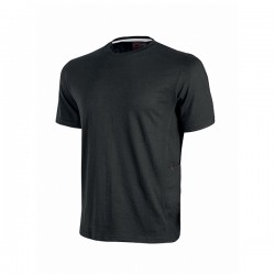 T-SHIRT Maniche Corte ROAD Nera - U-POWER - EY138BC- Taglie S-XL