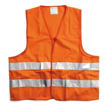 Gilet alta visibilità a norma giallo/ arancione