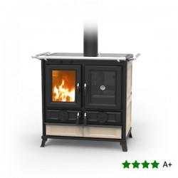 Cucina a Legna VIOLETTA 9,4 kW con forno - THERMOROSSI - 2 Colori