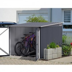 Box METAL BYCICLE STORE cm 203x203x162 - DURAMAX