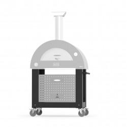 """Base per forno a Gas """"BRIO"""" in Acciaio Inox - ALFA PIZZA"""
