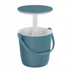 Tavolino Portatile GO BAR Azzurro con Contenitore Termico - KETER