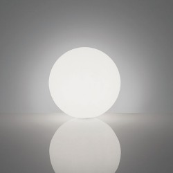 Lampada da Terra GLOBO 30 Bianca 30 cm - SLIDE