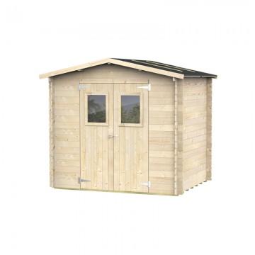 Casetta in legno HOBBY 62197 248x198x217cm - ALCE