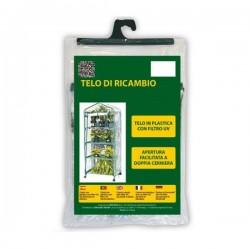 Telo ricambio per serra Azalea 4 e serra Iris - VERDEMAX 2495