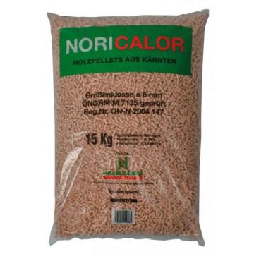 Pellet Austriaco Certificato NORICALOR - Sacco da 15 kg