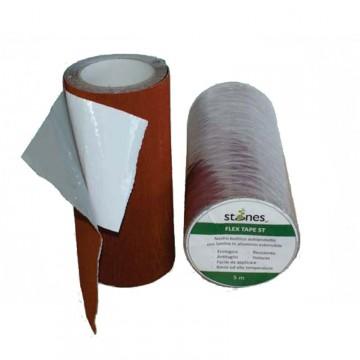 Nastro butilico adesivo STONES - FLEX-TAPE - Rotolo 5 metri x h 300 mm