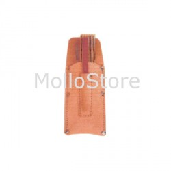 Borsina Porta Metro in Cuoio cm 25x8,5 Made in Italy JIMP - 100