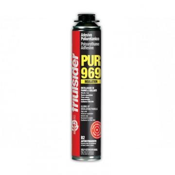 Schiuma Adesiva Poliuretanica PUR Insulation B2 per Cappotti - FRIULSIDER - 750 ml