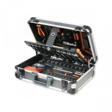 Valigetta Portautensili in alluminio con 144 Utensili - BETA EASY 2056E - 020560000
