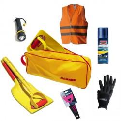 Kit Emergenza Neve per Auto MASS Composto da 6 pezzi Utili per Liberarsi dalla Neve in caso di Emergenza