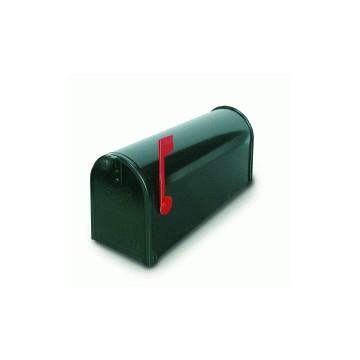 Cassetta Postale per Esterni TOPOLINO nera con Palo 48x17xh32 - ALUBOX 18USA1+18USAPL