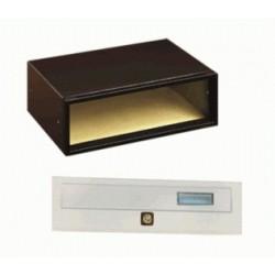 Cassetta Postale Modulare Orizzontale per Esterni 38,5x26,5xh12,5 - ALUBOX Modular 1