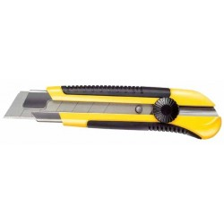 Cutter con Lama 25 mm con Rotella bloccalama - STANLEY 0-10-425