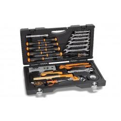 Valigia Utility Case con Assortimento di 33 utensili - BETA 2041UC - 20410200