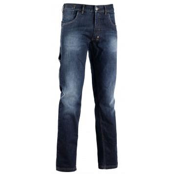 Pantalone Jeans Passante con portamartello DIADORA UTILITY - JEANS STONE Blu - 159590 60002