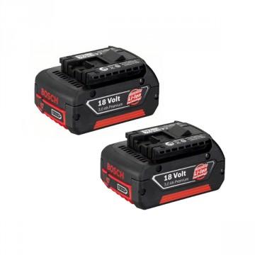 Kit 2 Batterie BOSCH da 18Volt / 3Ah Professional
