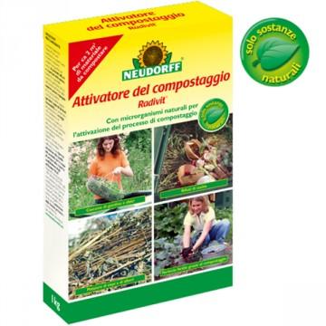 Attivatore del compostaggio Radivit® 1kg con microrganismi naturali - NEUDORFF