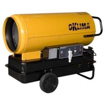 "Generatore Mobile d'aria Calda OKLIMA ""SD240"" a Combustione Diretta"