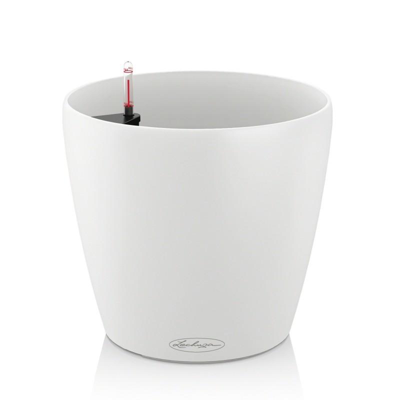 vaso classico color 35 con sistema di auto irrigazione 35x25 5xh33 cm disponibile in 3 colori. Black Bedroom Furniture Sets. Home Design Ideas