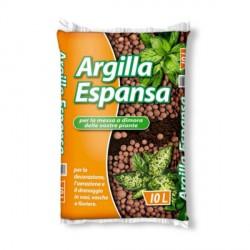 Argilla Espansa per Drenaggio e Decorazione 10 litri - COLTIVO