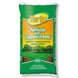 Terriccio per Tappeti Erbosi semina, manutenzione e rigenerazione 50 litri - TERTU