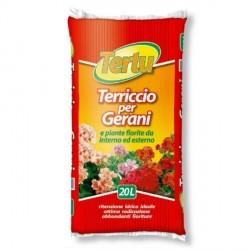 Terriccio per Gerani e tutte le Piante Fiorite 20 litri - TERTU
