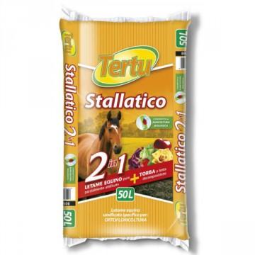 Stallatico Umificato per Orto biologico, Piantumazioni e Prato 50 litri - TERTU