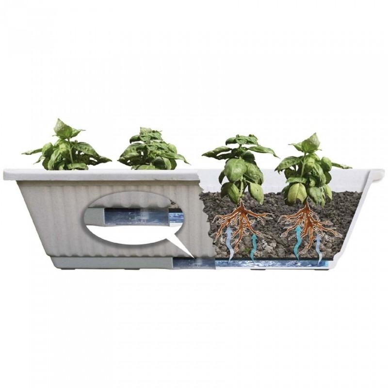 Vasi con riserva d acqua prezzi pompa depressione for Sottovasi ikea