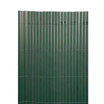 Canniccio PVC bifacciale di occultazione 3 x h1 m Colore Verde - VERDEMAX 5525