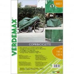 Telo sagomato con occhielli per coprire le biciclette 185 x h 120 cm - VERDEMAX 6851