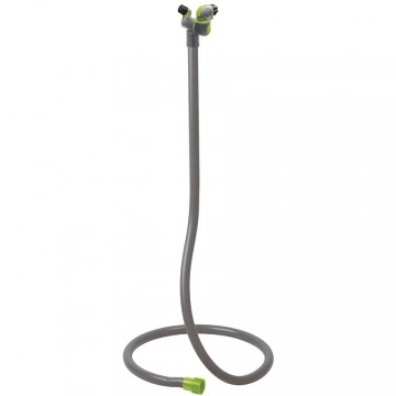 Tubo rigido portatile a torre, con 2 testine regolabili e orientabili Summer Fresh Kobra - VERDEMAX 9642