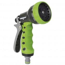 Pistola a doccia 7 getti impugnatura ergonomica- VERDEMAX 9507