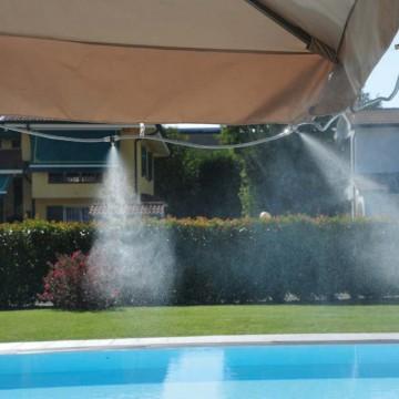 Kit Nebulizzazione acqua da esterno Kit Summer Fresh per Gazebo e Ombrelloni - VERDEMAX 9640