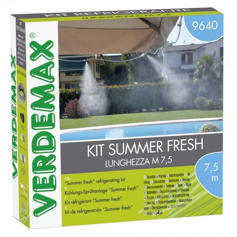 Kit Nebulizzazzione acqua da esterno Summer Fresh - VERDEMAX 9640