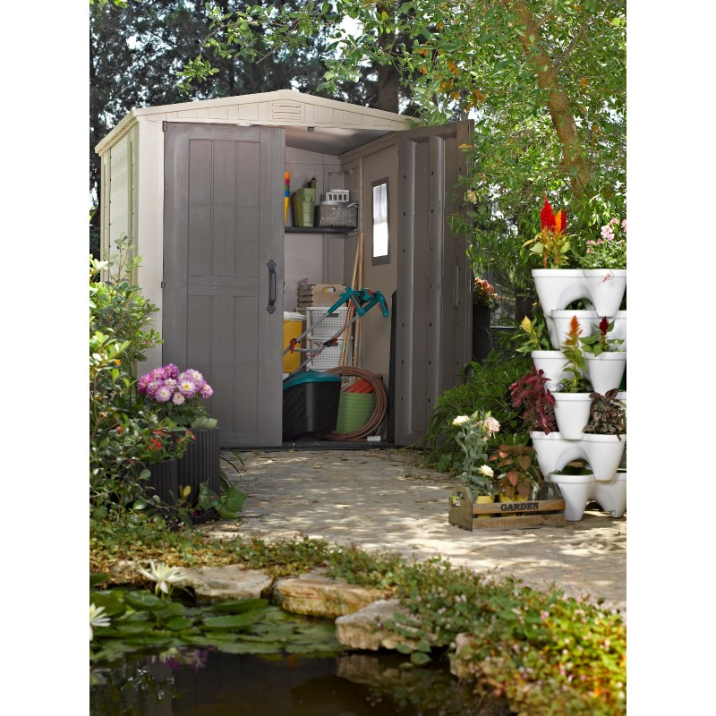 Casetta in resina da giardino 178 x 195 5 x 208 cm keter - Casette da giardino in resina ...