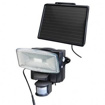 Faretto solare a LED con segnalatore di movimento e modulo solare separato SOL 80 plus IP 44 - BRENNENSTUHL - 1170950