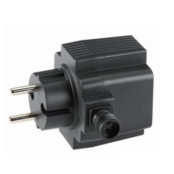 Trasformatore per impianti max 21W 12Volts per esterno IP67 con spina SCHUKO