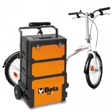 Trolley Portautensili a 3 Moduli Sovrapponibili - BETA C42H - 042000002 + 115 utensili + Mini Bike Atala omaggio