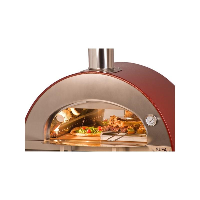 Forno a legna pizza brace in acciaio inox alfa - Forno per pizza domestico ...
