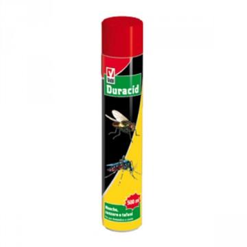 Duracid Mosche e Zanzare - Efficace contro mosche, zanzare e altri insetti volanti- conf. 500 ml - VEBI