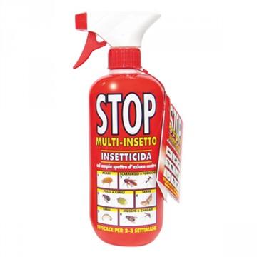 Stop Multi insetto ad ampio spettro d'azione per uso domestico -conf. 0,375 LT- MANIVER