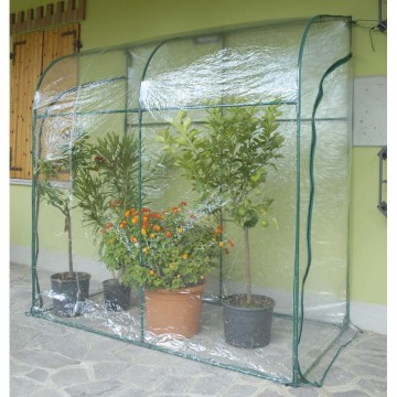 Serra a Parete con Doppia Apertura Laterale 200 x 100 x h 215 cm - Serra Oleander VERDEMAX 2644