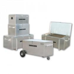 Cassone porta attrezzi in alluminio, dim. 700x1900xh500 - BOSCARO srl
