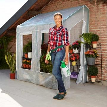 Serra Lobelia da giardino 200 x 110 x h 210 cm - Serra LOBELIA VERDEMAX 2568