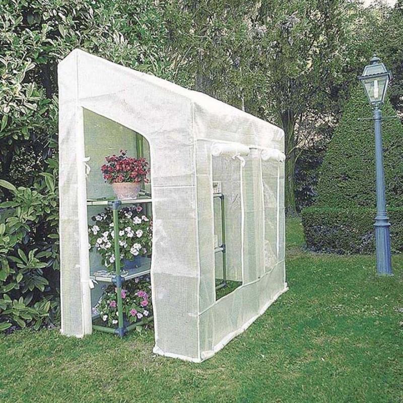 Serra lobelia da giardino 200 x 110 x h 210 cm serra for Serre da giardino policarbonato