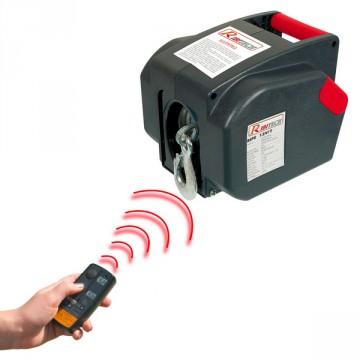 Argano Verricello elettrico telecomandato - Ribimex RIBITECH PE12V/T