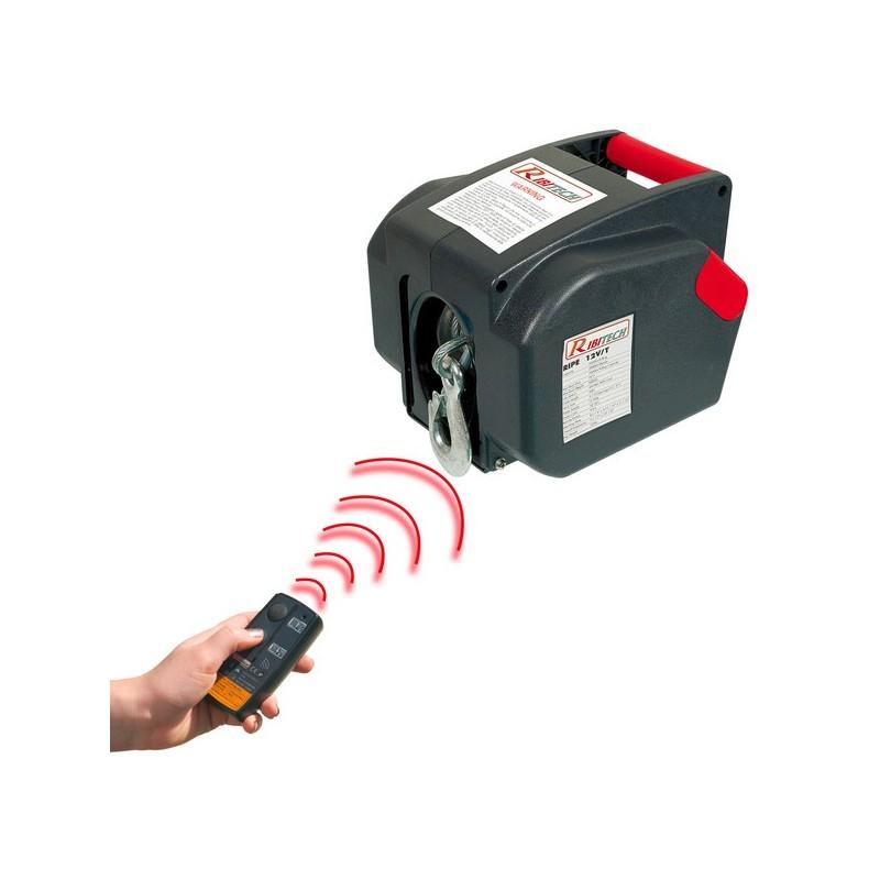 argano verricello elettrico telecomandato ribimex