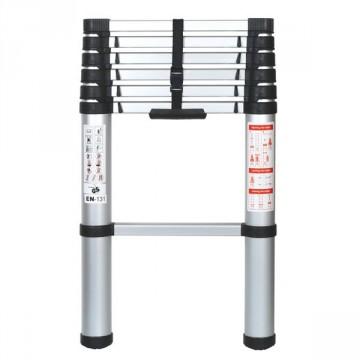 Scala Telescopica ad apertura parziale o totale in Alluminio 7 Pioli - art. PRET07 - RIBIMEX